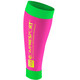 Compressport Calf R2 warmers Dames groen/roze